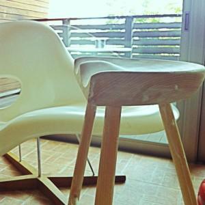 家具のソープフィニッシュ(ソープ仕上げ)@シューメーカーズチェア